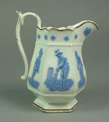 Jug, images of cricketers