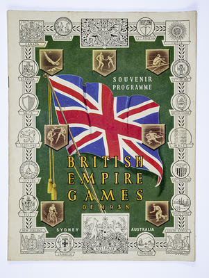Programme, 1938 British Empire Games