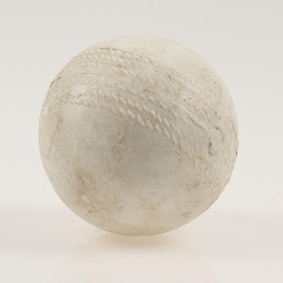 Blind cricket ball, used in First World Cup of Blind Cricket - 1998
