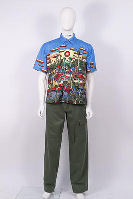 Pants and belt, Australian team Opening Ceremony uniform, 2000 Sydney Olympics