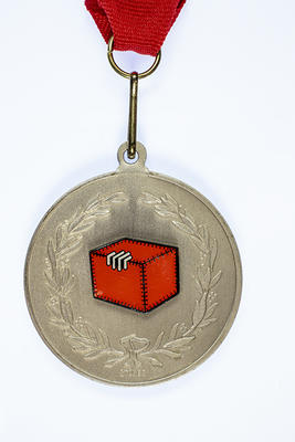 Douglas Wilkie Medal awarded to Barry Jones by the Anti Football League, 2007