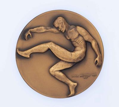 VFL premiership medal awarded to John Nicholls, 1970