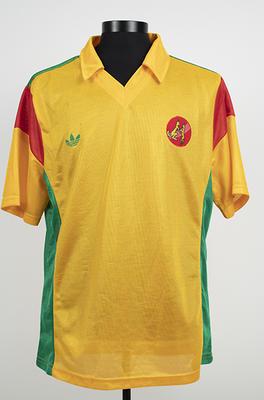 T-shirt worn by Peter Faulkner, 1985/86
