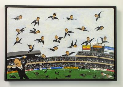 "Painting, ""A Better Win"" by Steven Krahe"