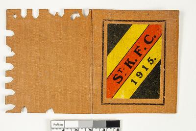 Membership ticket, St Kilda FC 1915