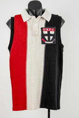 St Kilda FC guernsey, worn by Carl Ditterich