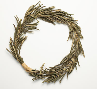 Two olive wreathes, presented to Petria Thomas at 2004 Olympic Games