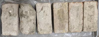 Twelve bricks from 1884 Members stand, MCG