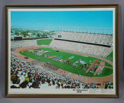 Poster, 1978 Commonwealth Games Opening Ceremony