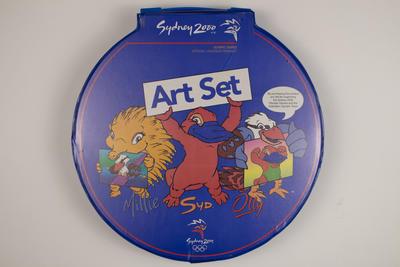 Child's art set, Sydney 2000 Olympic Games design