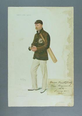 Vanity Fair supplement 1906  - 'Tom' (Tom Hayward) artist 'Spy'