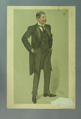 """Vanity Fair - """"Lord Darnley 'Ivo' """", 1904 by 'Spy'."""