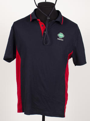 Polo shirt, worn by MCC Arenas team member c2010-20