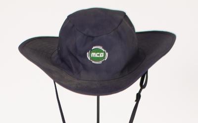 Sun hat, worn by MCC Arenas team member c2010-20