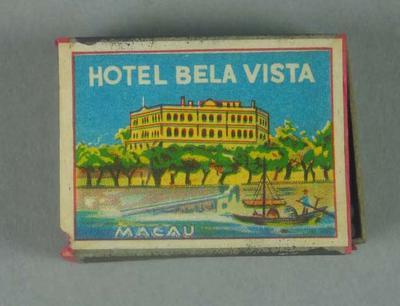 Matchbox, Hotel Bela Vista Macau design