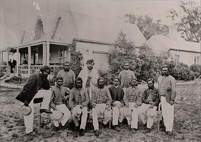"""""""Aboriginal Cricket Team 1866"""""""