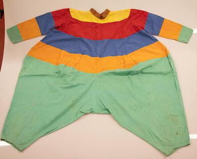 Spinning top costume, used during 1954 Physical Education Display on the MCG