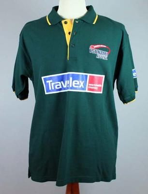 Cricket shirt worn by Marvan Atapattu, Tsunami Appeal match - 2005