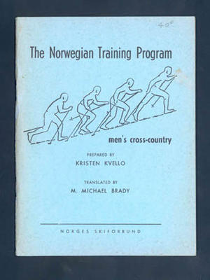 "Booklet, ""The Norwegian Training Program"" by Kristen Kvello 1965"