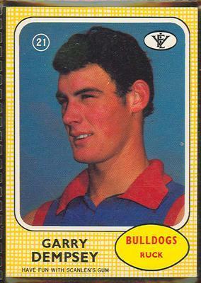 1972 Scanlens (Scanlens) Australian Football Garry Dempsey Trade Card