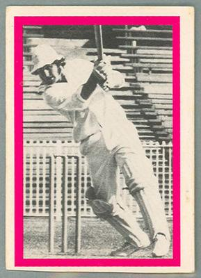 1974 Sunicrust Cricket - Australia v England, Ray Bright trade card