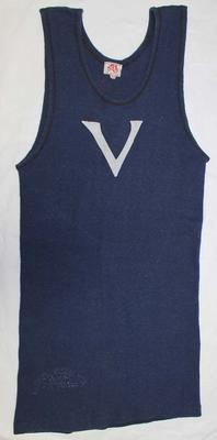 Victorian competition uniform, worn by Stan Davies during the Australian Gymnastic Championships, 1951