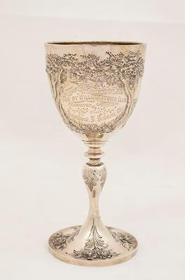 Athletic Sports Committee Challenge Cup won by South Yarra Football Club, 1865
