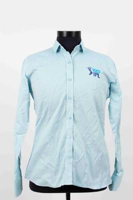 Indian Premier League media shirt worn by Mel Jones, 2019