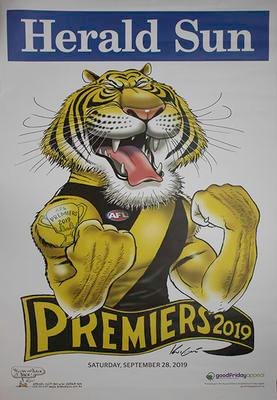 Herald Sun AFL 2019 Grand Final poster