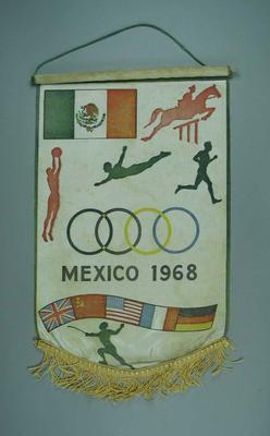 Wall hanging, 1968 Mexico City Olympic Games