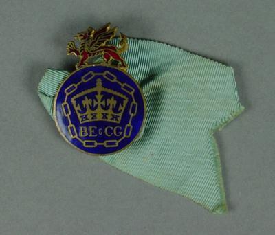 Badge, British Empire & Commonwealth Games c1958