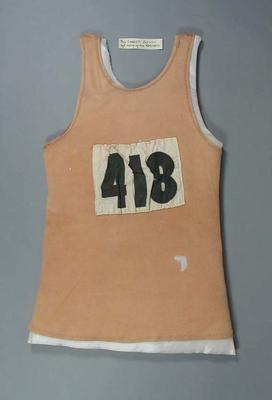 Singlet, worn by Herb Elliott