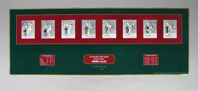 "Print, Dennis Lillee - ""The Australian Cricket Legends - Frame by Frame"""