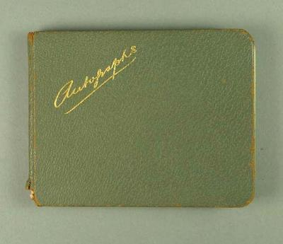 Autograph book, various sporting personalities c1948-50s