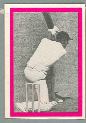 1974 Sunicrust Cricket - Australia v England, Tony Greig trade card
