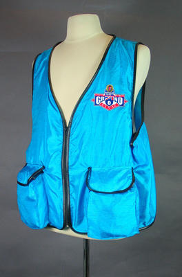 Photographer's vest, 1994 AFL Grand Final; Clothing or accessories; 1999.3527.3