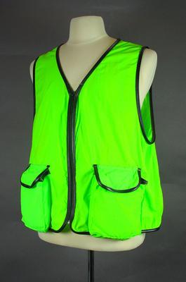 Photographer's vest, AFL c1990s; Clothing or accessories; 1999.3527.6