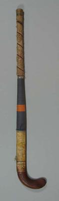 Hockey stick, used by Indian team at 1956 Olympic Games