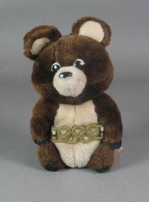 Soft toy, 1980 Olympic Games mascot - Misha