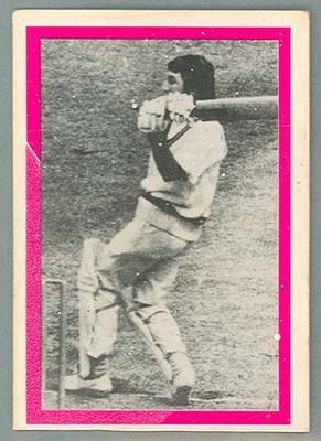 1974 Sunicrust Cricket - Australia v England, Ian Chappell trade card