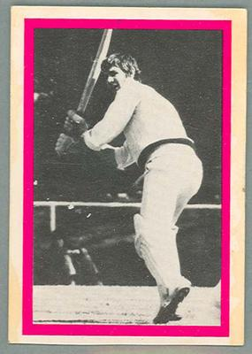 1974 Sunicrust Cricket - Australia v England, Ian Redpath trade card