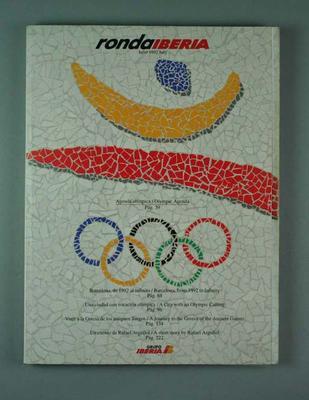 "Booklet, ""Ronda Iberia"" 1992 Olympic Games"