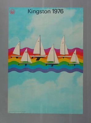 Poster, 1976 Montreal Olympic Games - Kingston Sailing