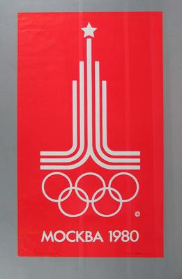 Poster, 1980 Moscow Olympic Games logo