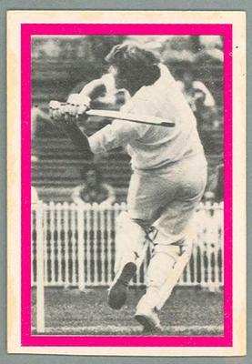 1974 Sunicrust Cricket - Australia v England, Paul Sheahan trade card; Documents and books; 1987.1811.183