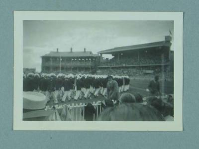 Photograph of 1956 Olympic Games Opening Ceremony, MCG