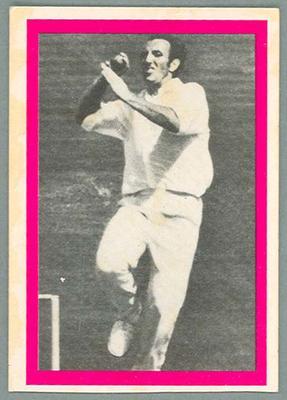 1974 Sunicrust Cricket - Australia v England, Geoff Arnold trade card