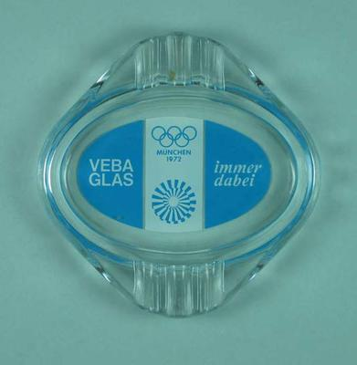 Ashtray, 1972 Munich Olympic Games design
