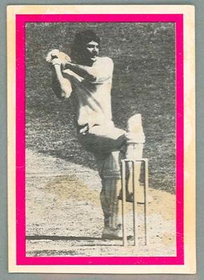 1974 Sunicrust Cricket - Australia v England, Rod Marsh trade card
