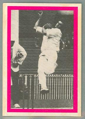 1974 Sunicrust Cricket - Australia v England, Dennis Lillee trade card